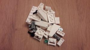 LEGO Star Wars Magazin #33 - Imperial Shuttle - Bauteile