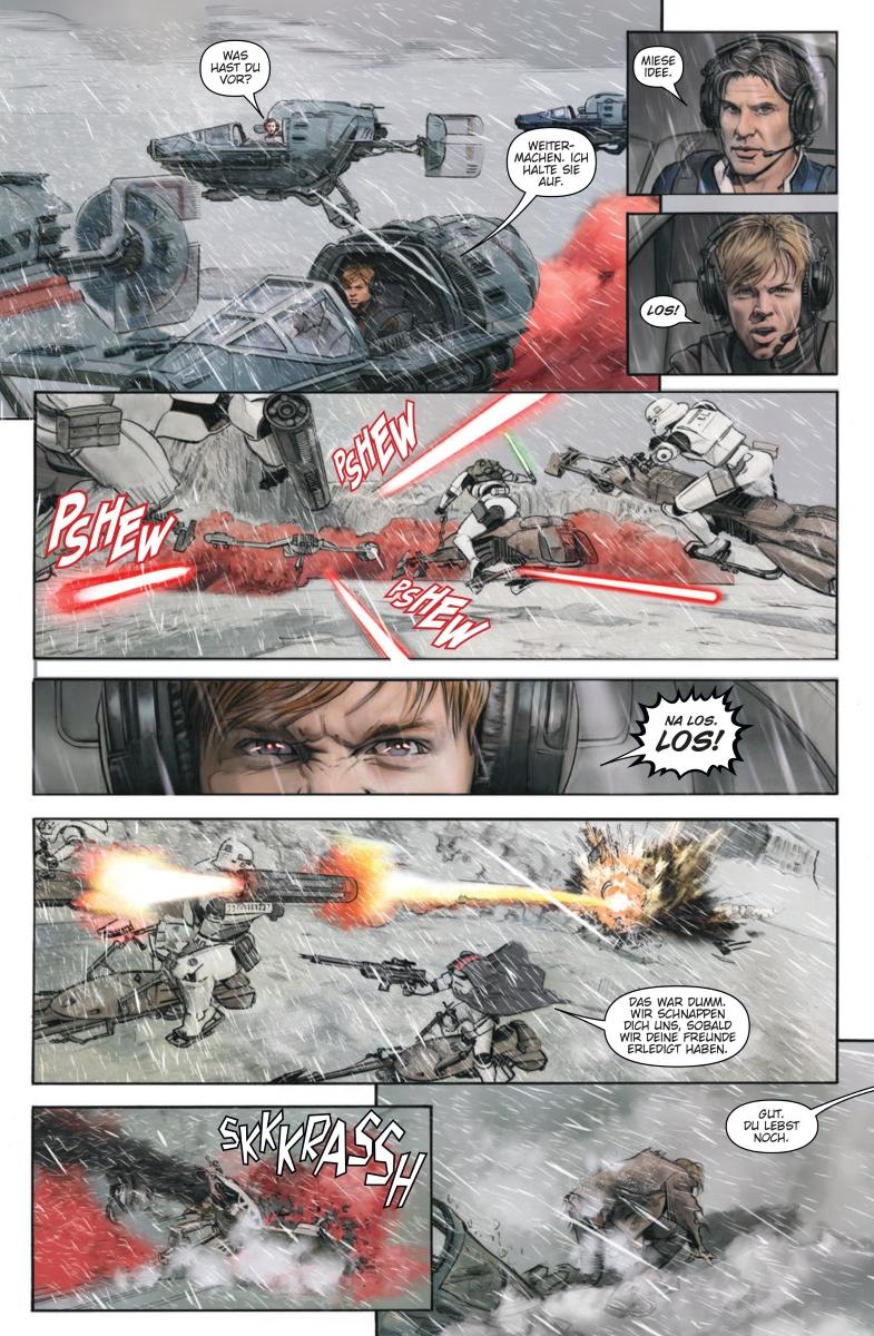 Star Wars #32: Darth Maul, Teil 5 / Die letzten Jedi: Die Stürme von Crait - Vorschauseite 3