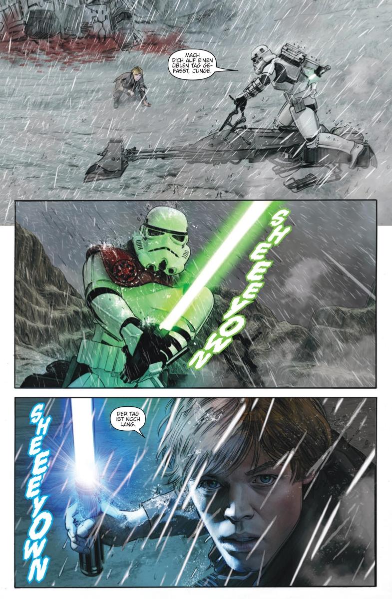 Star Wars #32: Darth Maul, Teil 5 / Die letzten Jedi: Die Stürme von Crait - Vorschauseite 4