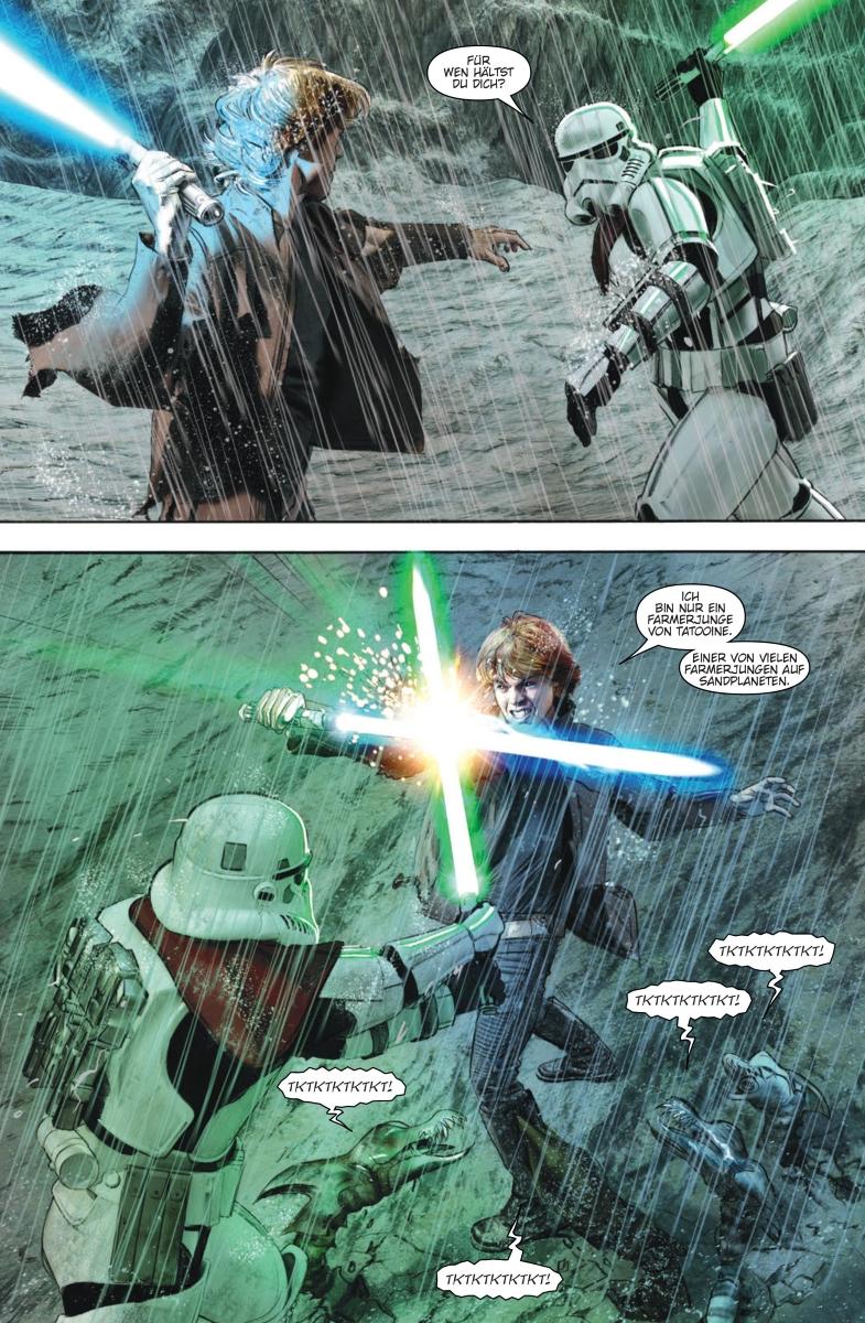 Star Wars #32: Darth Maul, Teil 5 / Die letzten Jedi: Die Stürme von Crait - Vorschauseite 5
