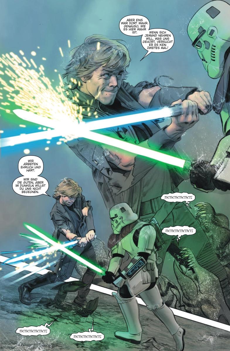 Star Wars #32: Darth Maul, Teil 5 / Die letzten Jedi: Die Stürme von Crait - Vorschauseite 6