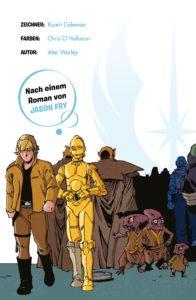 Star Wars Abenteuer, Band 1: Die Waffe eines Jedi - Vorschauseite 2