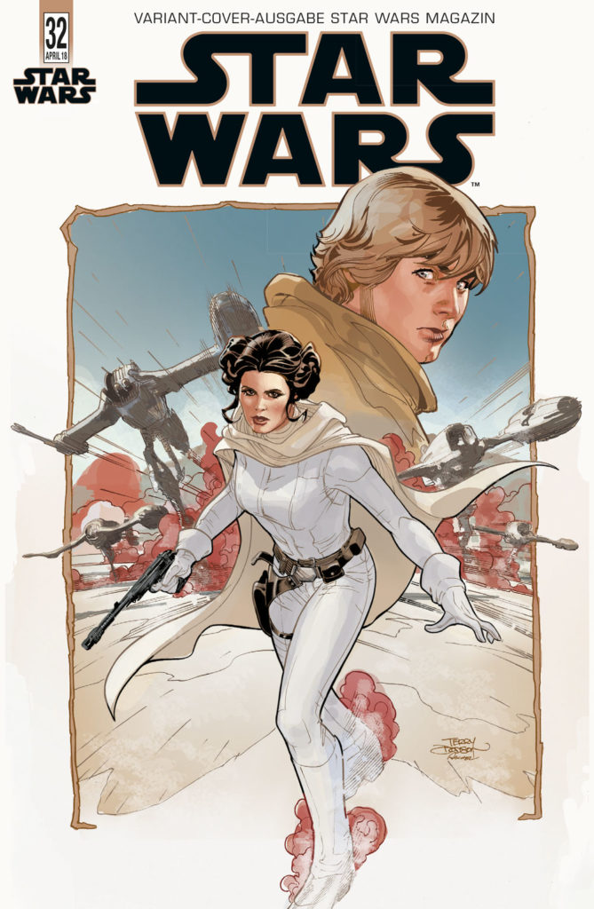 Star Wars #32 (Terry Dodson Journal of the Whills Variantcover) (21.03.2018)