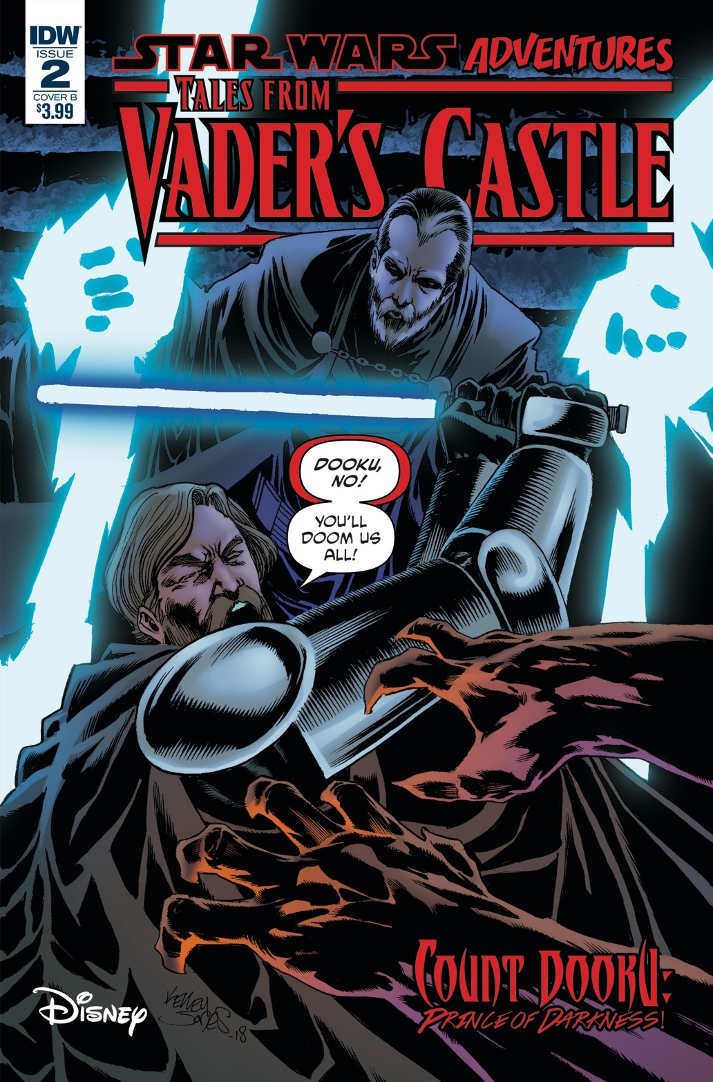 Star Wars Adventures: Tales from Vader's Castle #2 (Cover B by Kelley Jones) (10.10.2018)