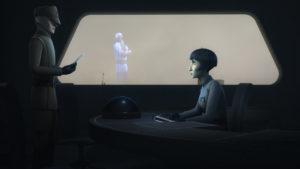 """Ryder gibt in """"Die Hoffnung stirbt zuletzt"""" vor, die Rebellen an Pryce zu verraten."""
