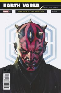 "Darth Vader #17 (Rod Reis Galactic Icon ""Darth Maul"" Variant Cover) (13.06.2018)"