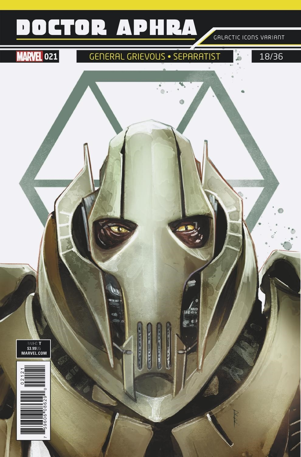 Doctor Aphra #21 (Rod Reis Galactic Icon Variant Cover) (27.06.2018)