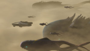 """Die Purrgils greifen das Imperium in """"Familientreffen und Abschied"""" an."""