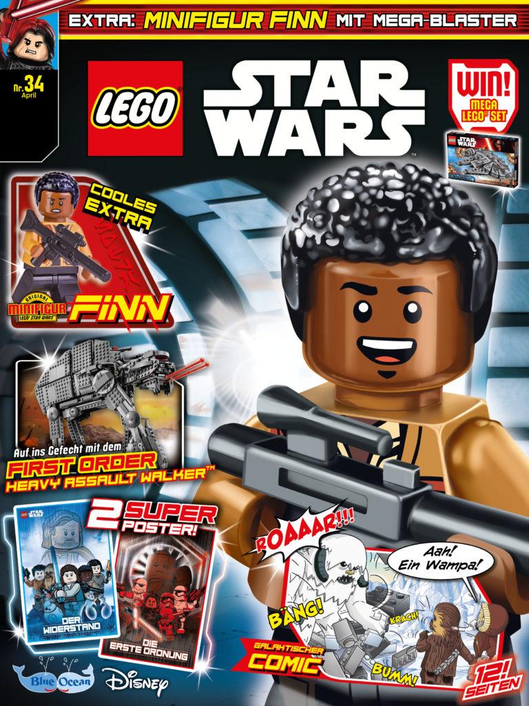 rezension lego star wars magazin 34 von blue ocean entertainment mit leseprobe jedi bibliothek. Black Bedroom Furniture Sets. Home Design Ideas