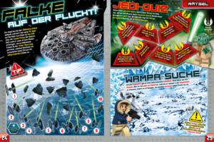 LEGO Star Wars Magazin #34 - Vorschau Seiten 24 und 25