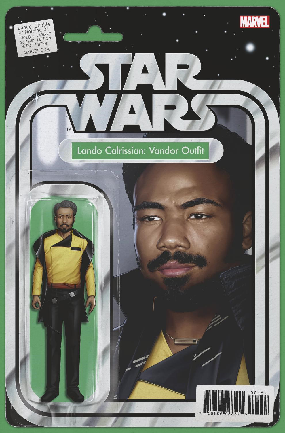 Lando: Double or Nothing #1 (Action Figure Variant Cover) (30.05.2018)