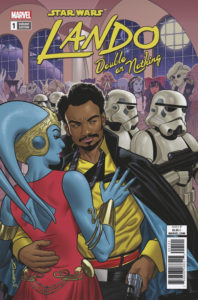 Lando: Double or Nothing #1 (Joe Quinones Variant Cover) (30.05.2018)