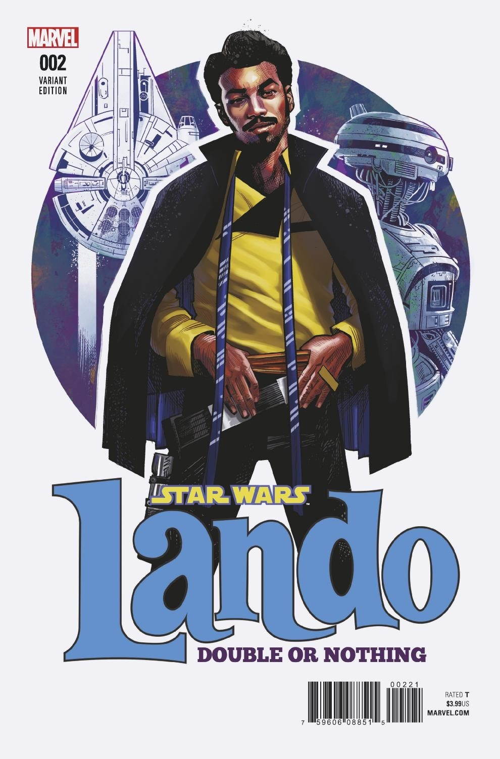 Lando: Double or Nothing #2 (Cameron Stewart Variant Cover) (27.06.2018)