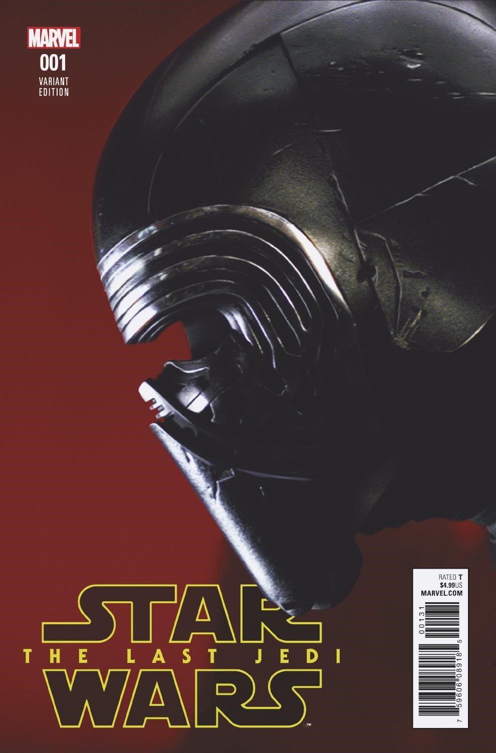 Star Wars: The Last Jedi #1 (Movie Variant Cover) (02.05.2018)