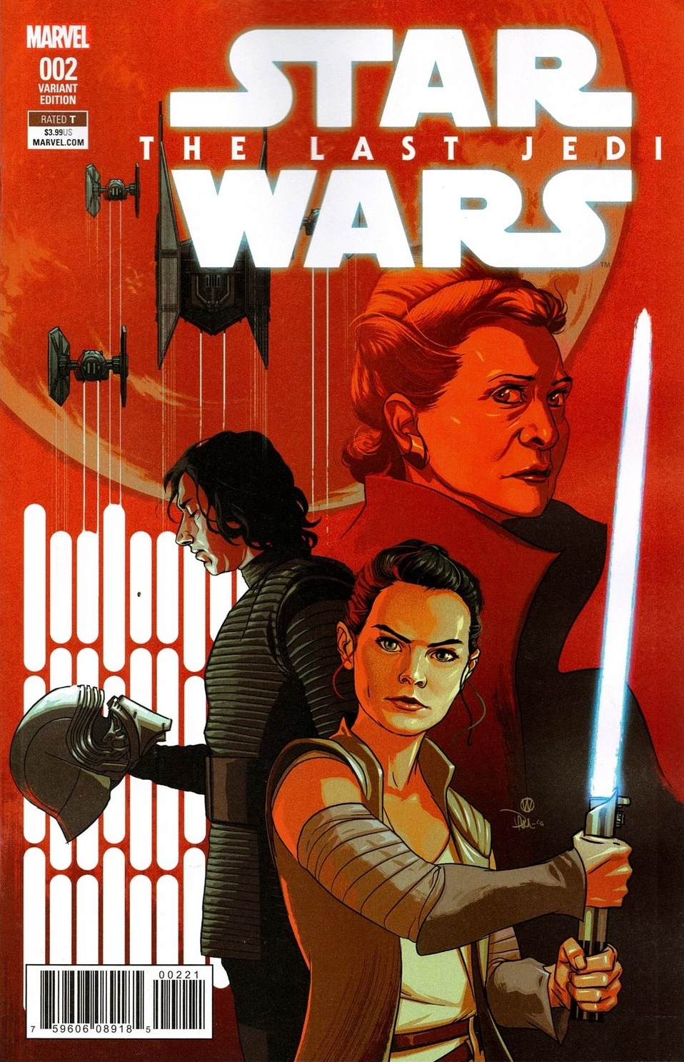 Star Wars: The Last Jedi #2 (Michael Walsh Variant Cover) (23.05.2018)