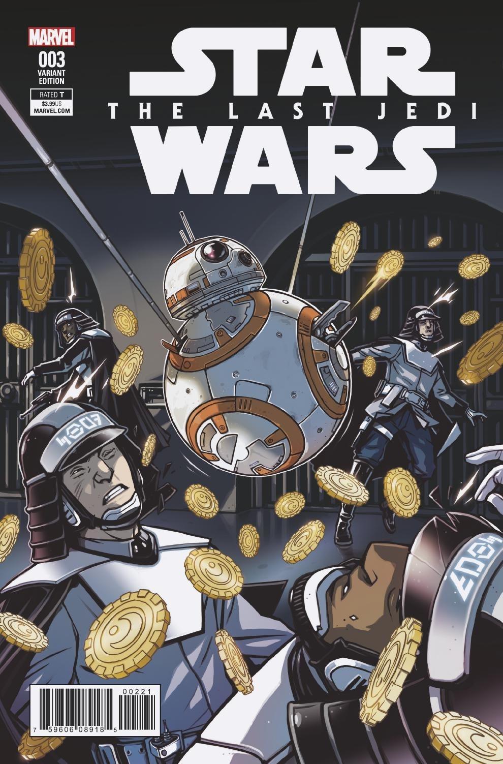 Star Wars: The Last Jedi #3 (Caspar Wijngaard Variant Cover) (06.06.2018)