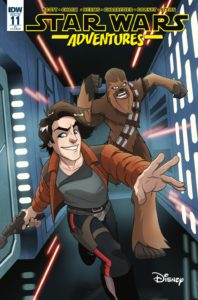 Star Wars Adventures #11 (Billy Martin Variant Cover) (06.06.2018)
