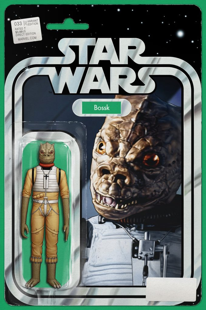 """Star Wars #33 (JTC """"Bossk"""" Action Figure Variant Cover) (20.04.2018)"""
