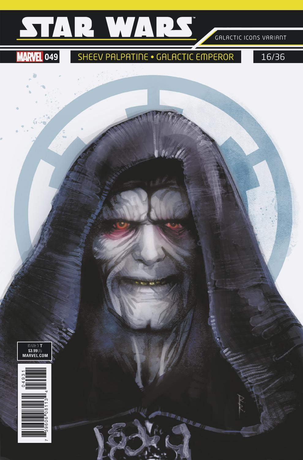 "Star Wars #49 (Rod Reis Galactic Icon ""Sheev Palpatine"" Variant Cover) (06.06.2018)"