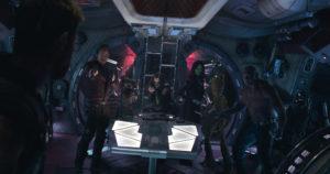 Die Guardians of the Galaxie in Avengers: Infinity Wars ©Marvel Studios 2018