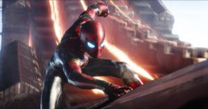 Spider-Man in Avengers: Infinity Wars ©Marvel Studios 2018