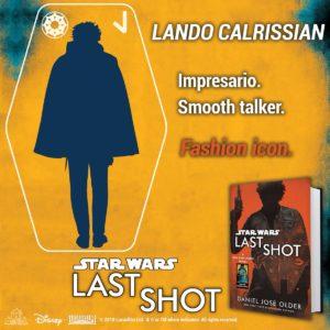 Del Reys Teaser für  Lando Calrissian