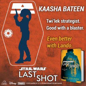 Del Reys Teaser für Kaasha Bateen