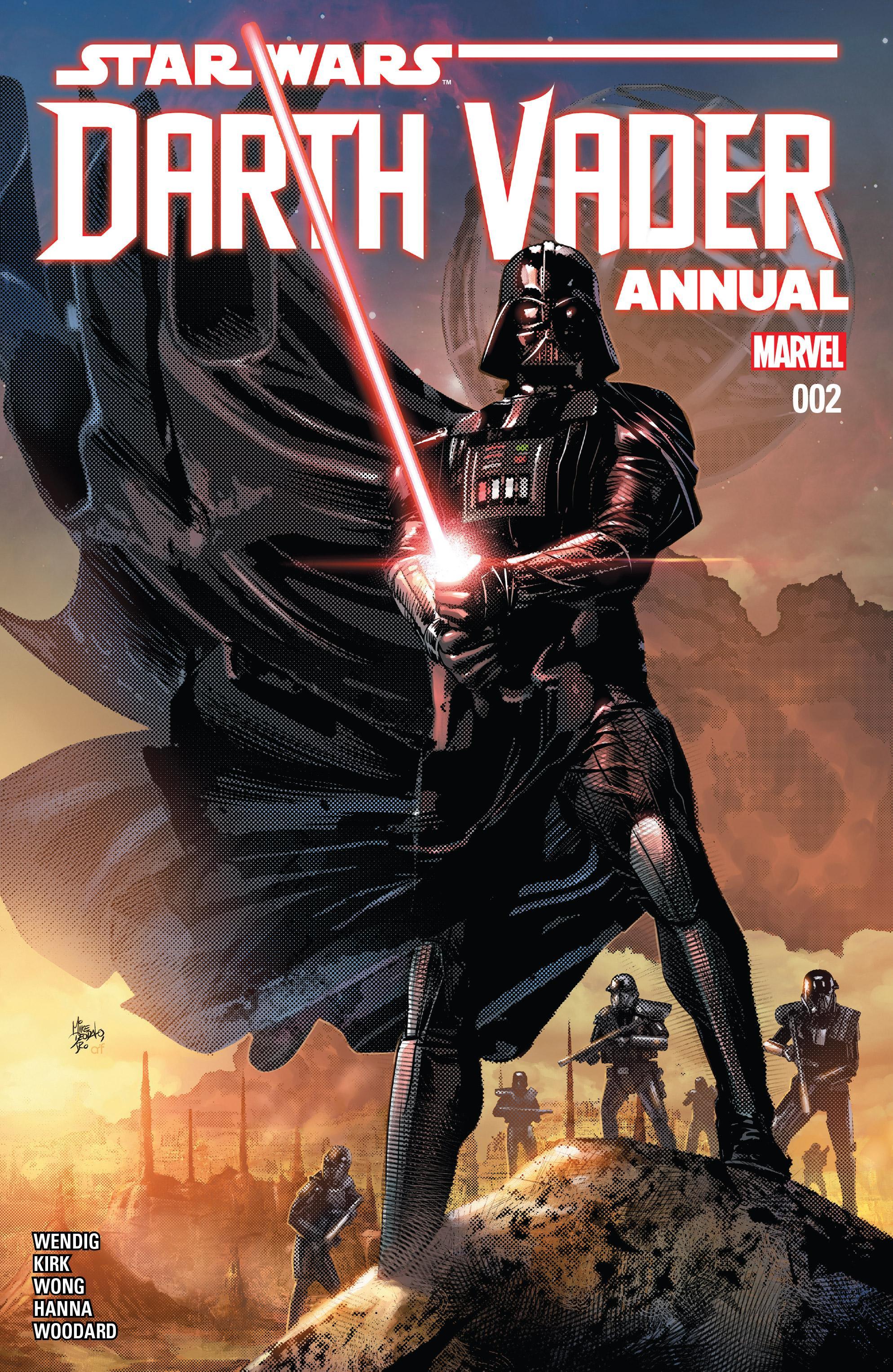 Marvel Vorschau Auf Das Darth Vader Annual 2 Jedi Bibliothek