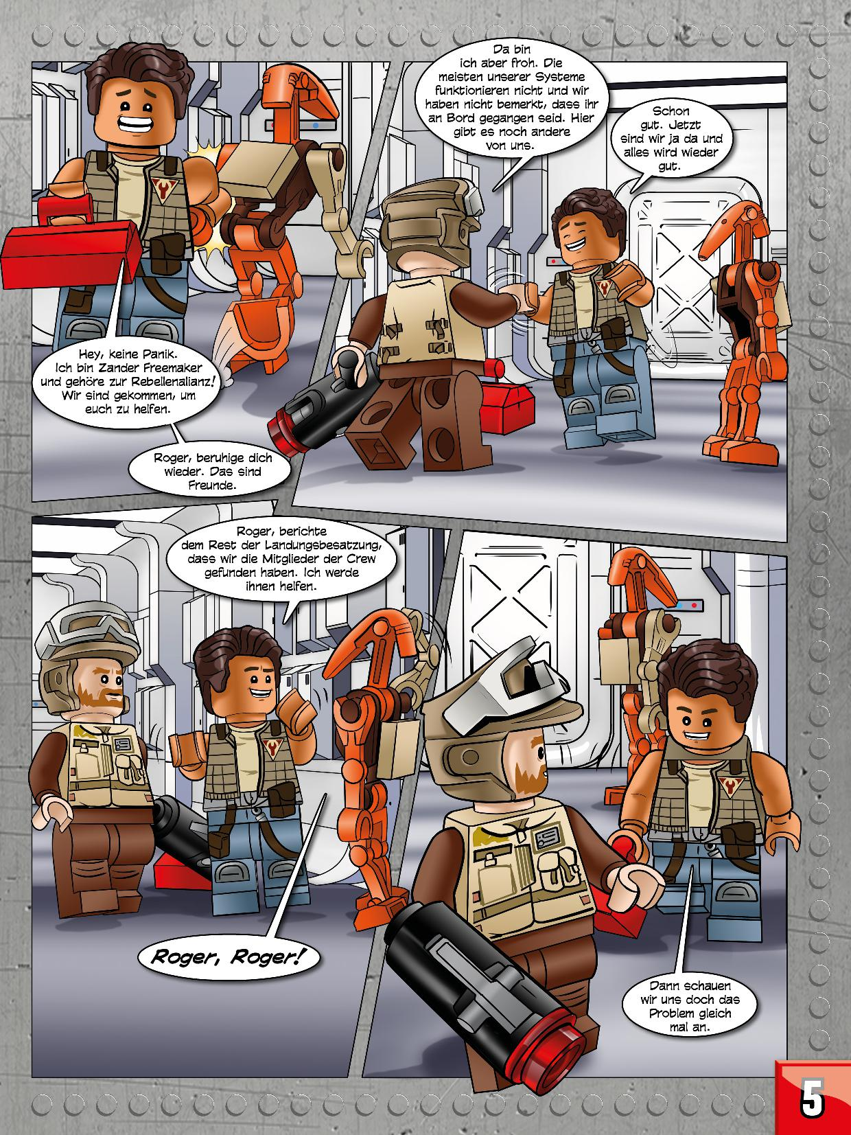 Rezension: LEGO Star Wars Magazin #35 von Blue Ocean Entertainment ...