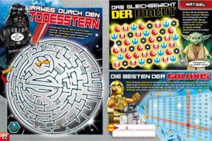 LEGO Star Wars Magazin #35 - Vorschau Seiten 22 und 23