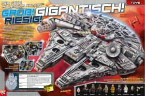 LEGO Star Wars Magazin #35 - Vorschau Seiten 24 und 25