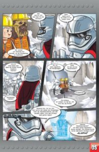 LEGO Star Wars Sammelband #9 - Jagd auf den Falken - Vorschauseite 35