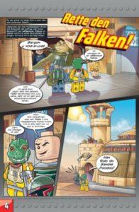 LEGO Star Wars Sammelband #9 - Jagd auf den Falken - Vorschauseite 4