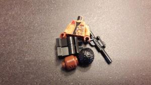 LEGO Star Wars Magazin #34 - Finn - Bauteile