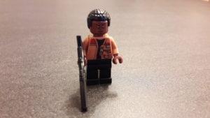 LEGO Star Wars Magazin #34 - Finn - Minifigur ernst