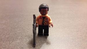 LEGO Star Wars Magazin #34 - Finn - Minifigur offener Mund