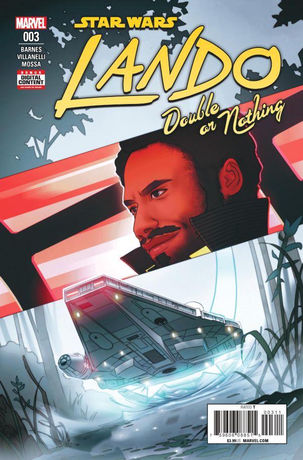 Lando: Double or Nothing #3 (25.07.2018)