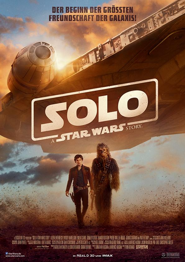 Solo: A Star Wars Story - Deutsches Filmplakat (Bildquelle: Disney Deutschland)