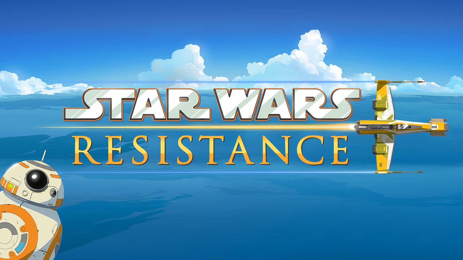 Neue Animationsserie Star Wars Resistance Jedi Bibliothek