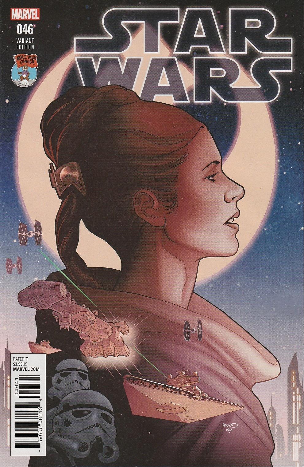 Star Wars #46 (Paul Renaud Mile High Comics Variant Cover) (04.04.2018)