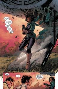 Sana Starros' erster Auftritt in Star Wars #6