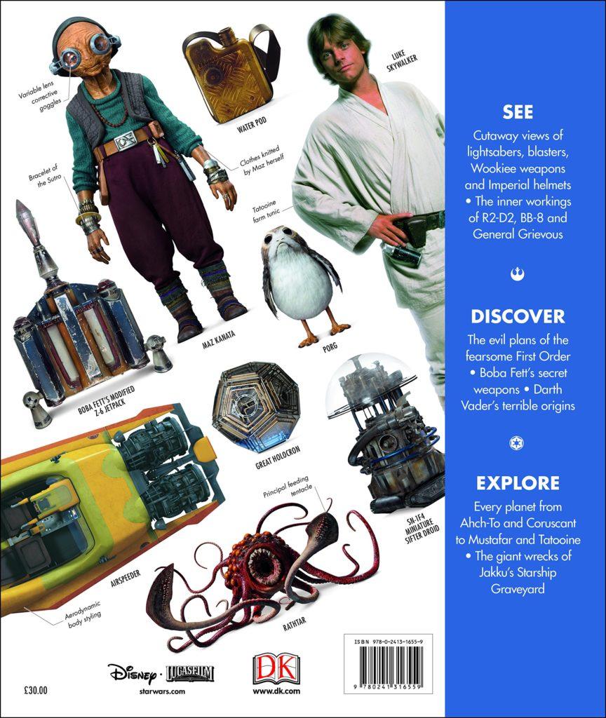 Star Wars Complete Visual Dictionary (Rückseite)