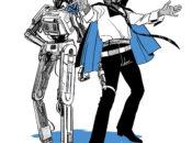 Lando und L3-37 (Flight of the Falcon)