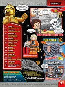 LEGO Star Wars Magazin #36 - Vorschau Seite 3