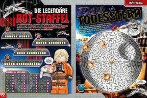 LEGO Star Wars Magazin #36 - Vorschau Seiten 22 und 23