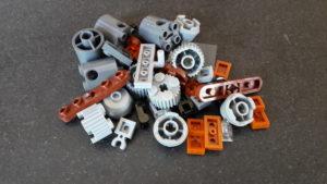 LEGO Star Wars Magazin #36 - Quadjumper - Bauteile