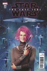 Star Wars: The Last Jedi #4 (Rod Reis Variant Cover) (04.07.2018)