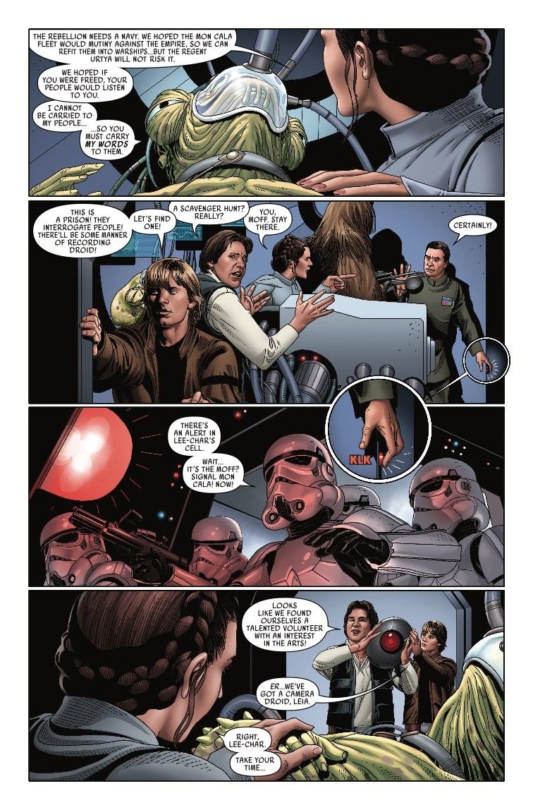 Comics - Star Wars #44-49: Mutiny at Mon Cala (6/6 Released
