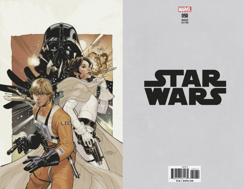 Star Wars #50 (Terry Dodson Virgin Variant Cover) (04.07.2018)