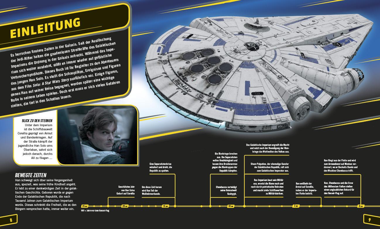 Solo: A Star Wars Story: Das offizielle Buch zum Film - Vorschauseite 1 © Dorling Kindersley Verlag